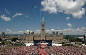 Parliament Hill Canada Day