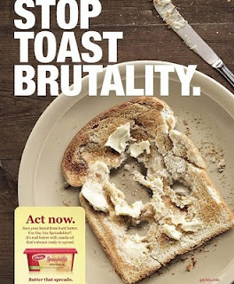 Gay Lea - Stop toast brutality campaign
