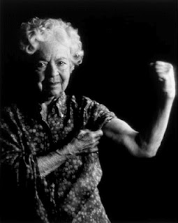 strong old woman