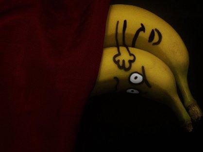 spooning bananas